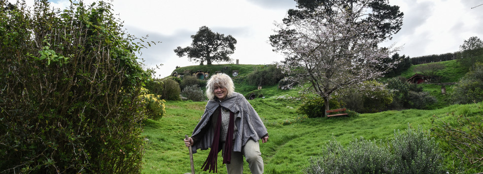Coming down from Bag End