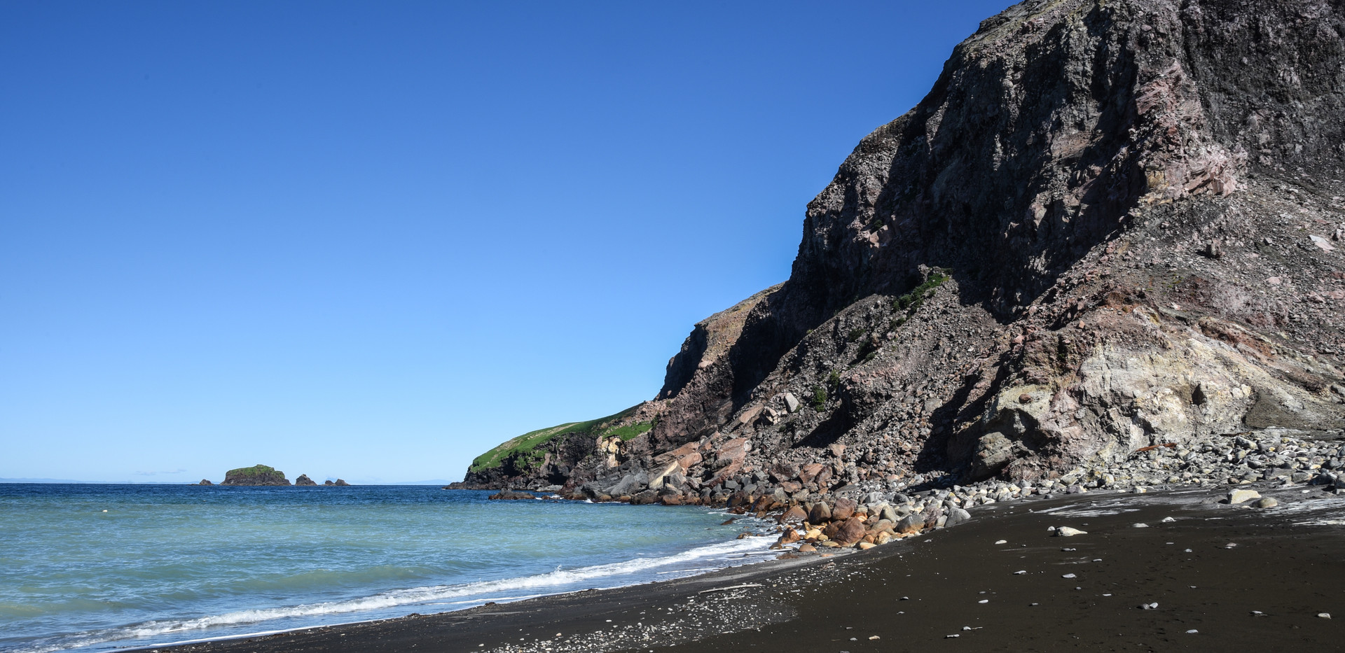 Typical Black Sand