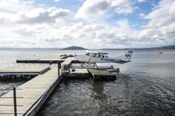 Sea Plane Docking