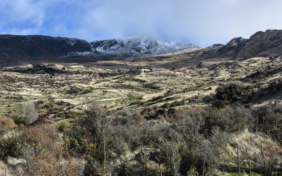 Roy's Peak Summit in the Clouds