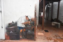 Man at Work Art