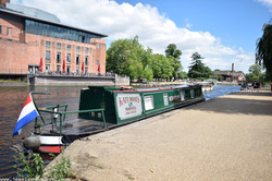 House Boat, River Avon