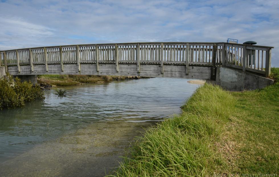 Bridge along the Coastal Path