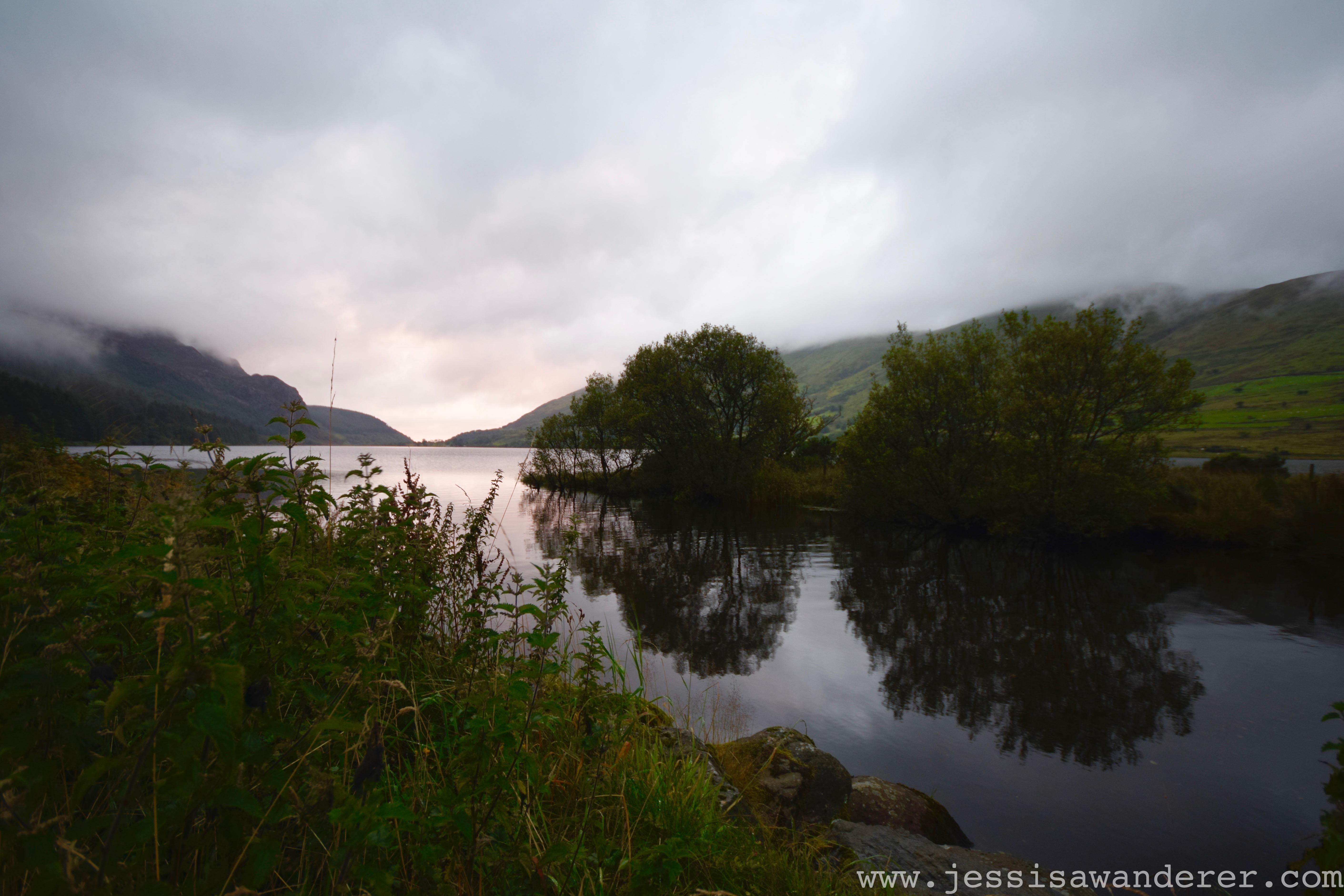Sunset over Llyn Cwellyn