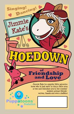 Jimmie Kate Hoedown Poster