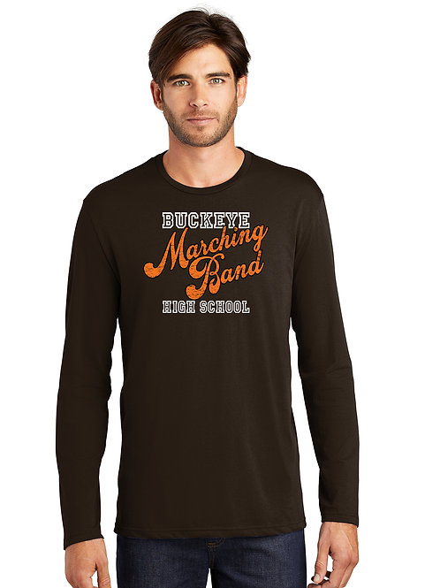 Buckeye Band District  Perfect Weight  Long Sleeve Tee