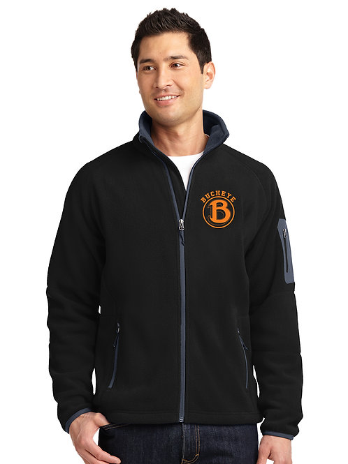 Buckeye Band Men's Port Authority Enhanced Value Fleece Full-Zip Jacket