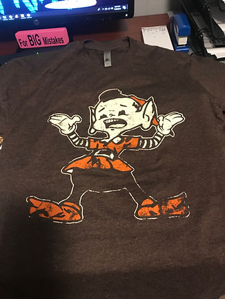 Cleveland Browns What the Elf Tee