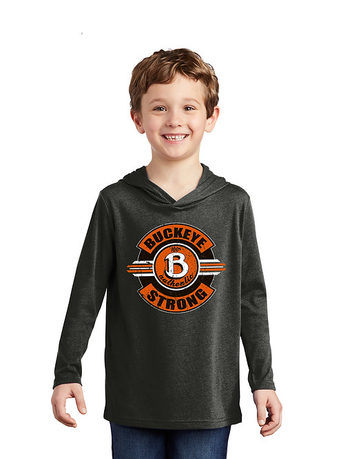Buckeye District  Youth Perfect Tri  Long Sleeve Hoodie