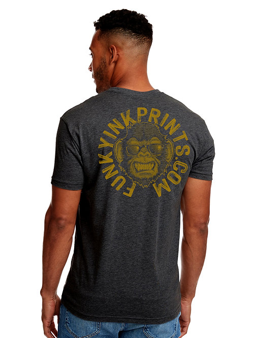 The Golden Funky Monkey T Shirt