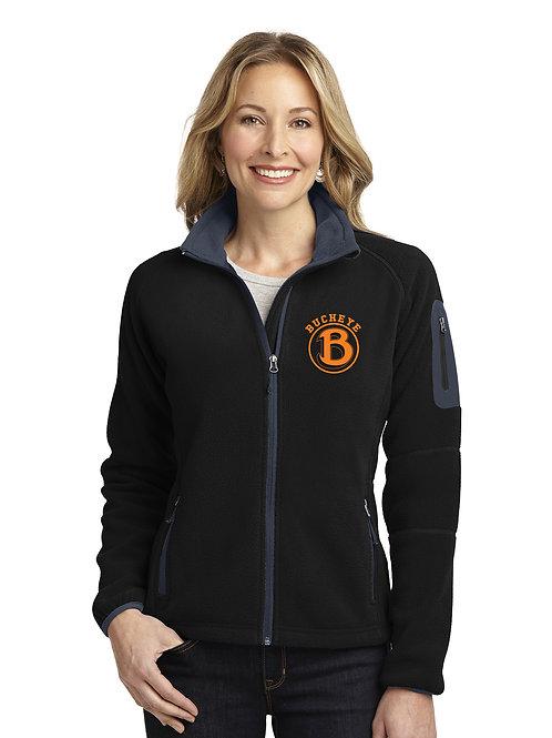 Buckeye Band Port Authority Ladies Enhanced Value Fleece Full-Zip Jacket