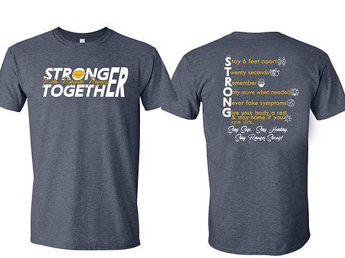 Ranger Stronger Together  Tee
