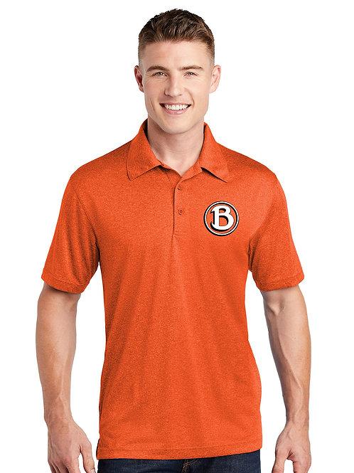 Buckeye Sport-Tek Heather Orange Contende Polo