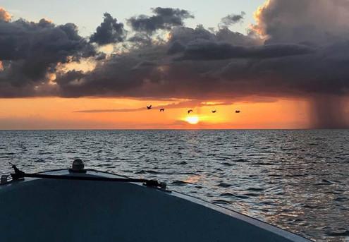 Beautiful Sunset in the Ten Thousand Islands