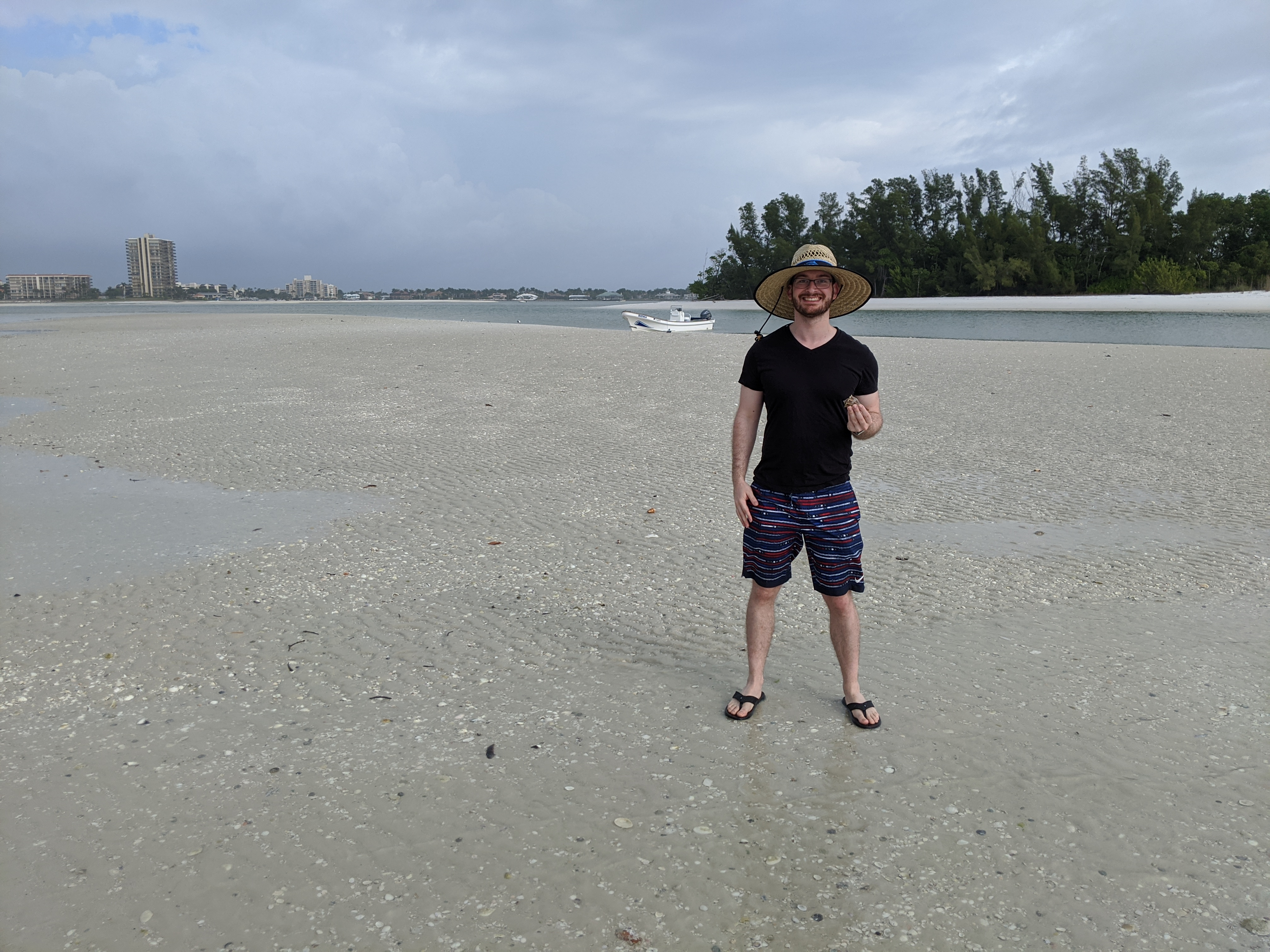 Shelling in the Ten Thousand Islands