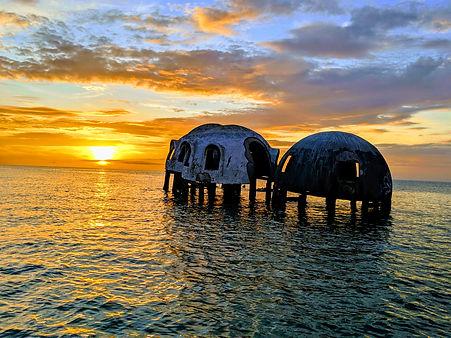 Sunset in the Ten Thousan Islands