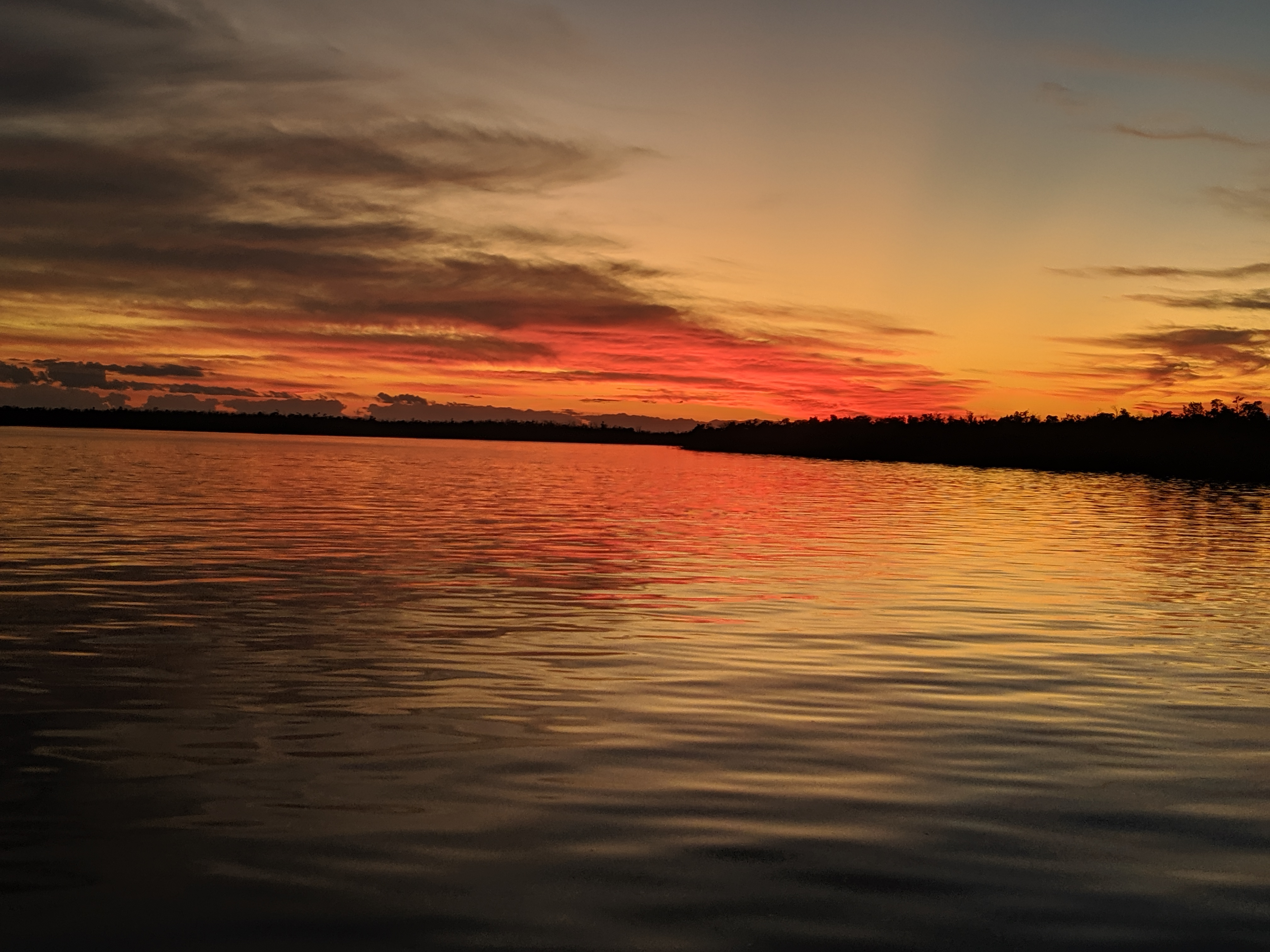 Sunset in the Ten Thousand Islands