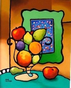 Nature morte à saveur de fruits