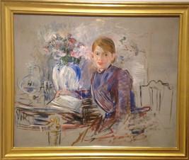 Berthe Morisot, impressionniste moderne              du 19e siècle