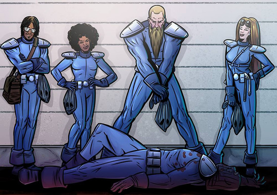 End of year Henchmen update posted to Kickstarter