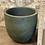 """Thumbnail: cement textured pot forest green 7.5"""""""