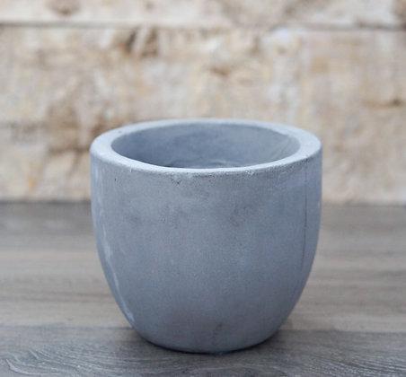 """cement pot round 6"""""""