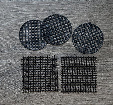 pot mesh pads - 5pcs