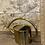 Thumbnail: gold watering can metal 1liter