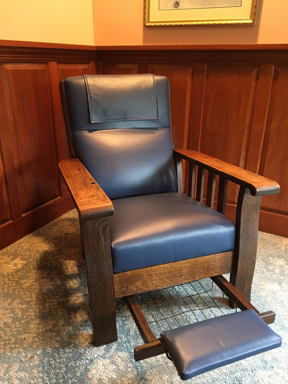 Morris Chair with foot rest