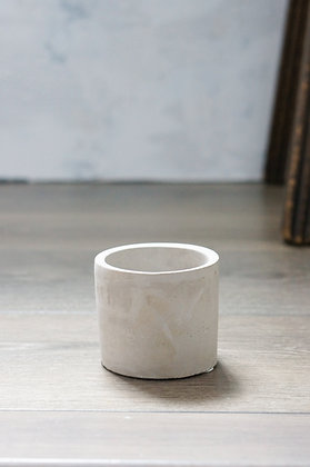 """cement pot cylindrical 3"""""""