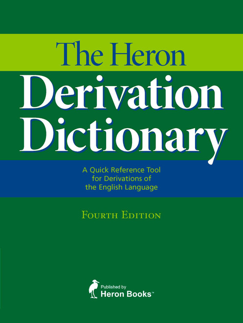 The Heron Derivation Dictionary