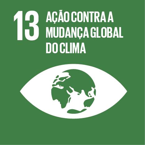 Objetivo 13 – ODS13 – Ação contra a mudança global do clima