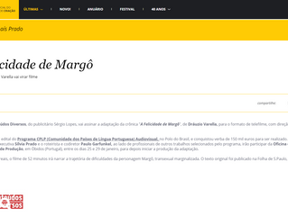 A Felicidade de Margô - Crônica de Dráuzio Varella vai virar filme