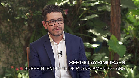 SÉRGIO AYRIMORAES - A AGÊNCIA NACIONAL DE ÁGUAS FAZ GESTÃO DA ÁGUA NO PAÍS
