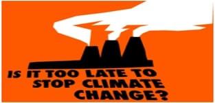 É muito tarde para parar a mudança climática? - Portal É conosco