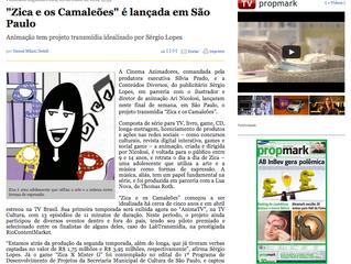 """""""Zica e os Camaleões"""" é lançada em São Paulo"""