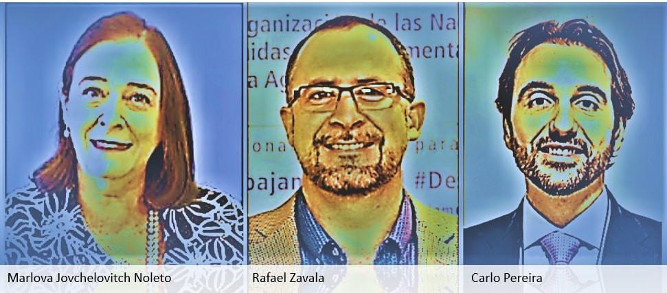 Marlova, Rafael Zavala e Carlo Pereira - Protal É conosco