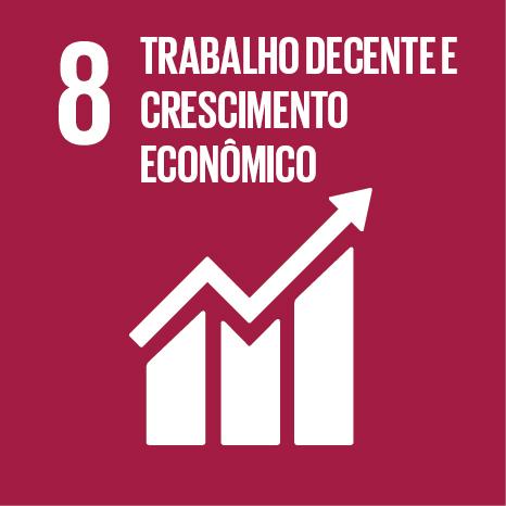 Objetivo 8 – ODS8 – Trabalho descente e crescimento econômico - É conosco