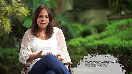 LUCIANA CHINAGLIA QUINTÃO – DESPERDÍCIO É A CULTURA DA DESORDEM