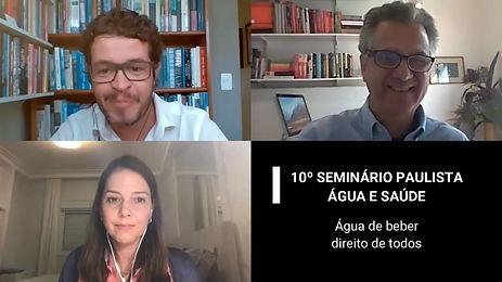 10º SEMINÁRIO PAULISTA  ÁGUA E SAÚDE