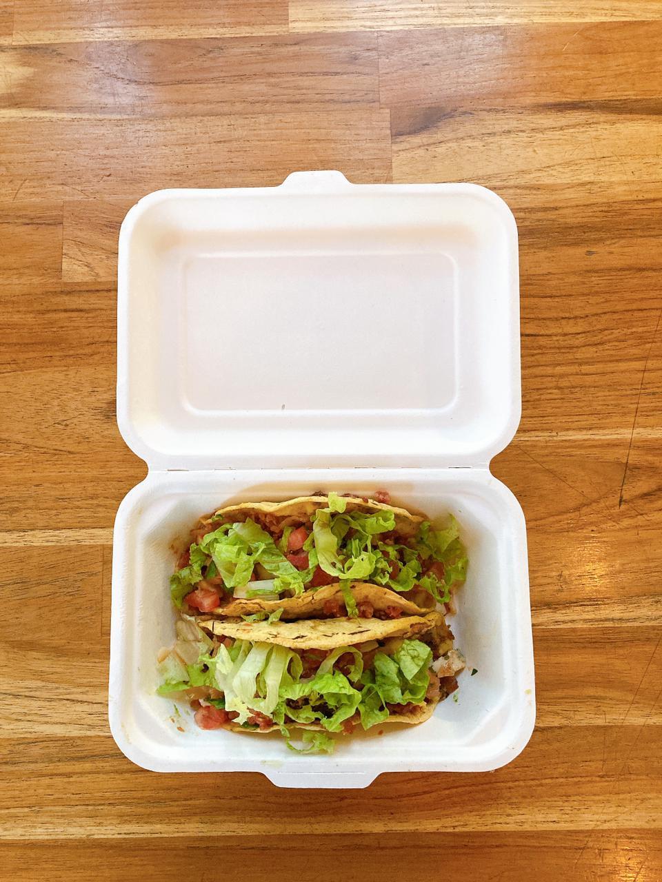 Embalagem biodegradável - The Taco Shop - Portal É conosco