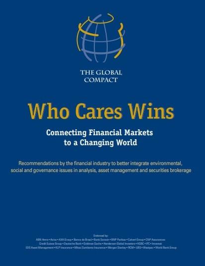 Who Cares Wins - Portal É conosco
