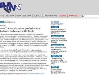 Fórum Transmídia reúne profissionais e estudiosos do tema em São Paulo