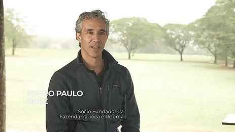 PEDRO PAULO DINIZ - A NATUREZA TEM MUITA TECNOLOGIA QUE É DESPREZADA
