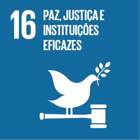 Objetivo 16 – ODS16 – Paz, justiça e instituições eficazes