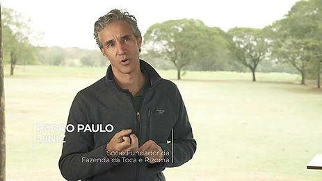 PEDRO PAULO DINIZ - É PRECISO DESENVOLVER AS TÉCNICAS AGRÍCOLAS ORGÂNICAS