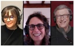Rashida Jones, Elizabeth Kolbert e Bill Gates - Portal É conosco