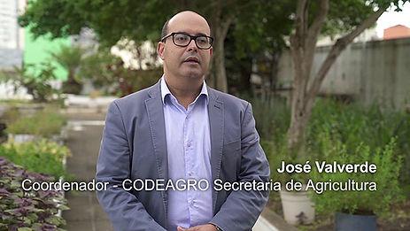 JOSÉ VALVERDE - O DESAFIO DE PRODUZIR ALIMENTOS