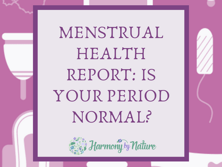 Menstrual Health Report: Is Your Period Normal?