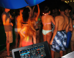 Pool Party Dancing in Ponte Vedra